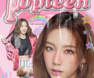 edit, popteen, and girls generation image