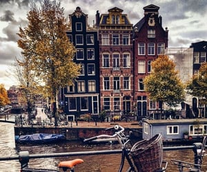 amsterdam, europe, and fall image