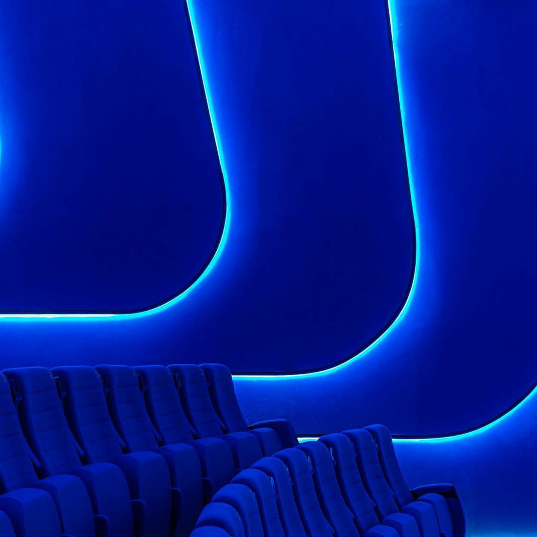 cinema, seats, and sit image