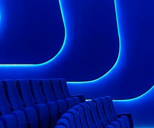 cinema, interior design, and seating image