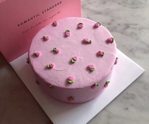 cake, aesthetics, and pink image