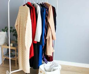 hanger, minimalist, and wardrobe image