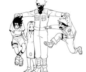 anime, fanart, and naruto image