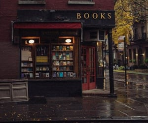 book, autumn, and city image