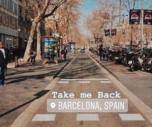Barcelona, stories, and travel image