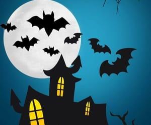 fantasmas, Halloween, and luna image
