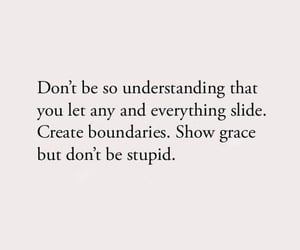 show grace but don't be stupid