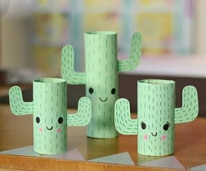 cactus, decorations, and diy image