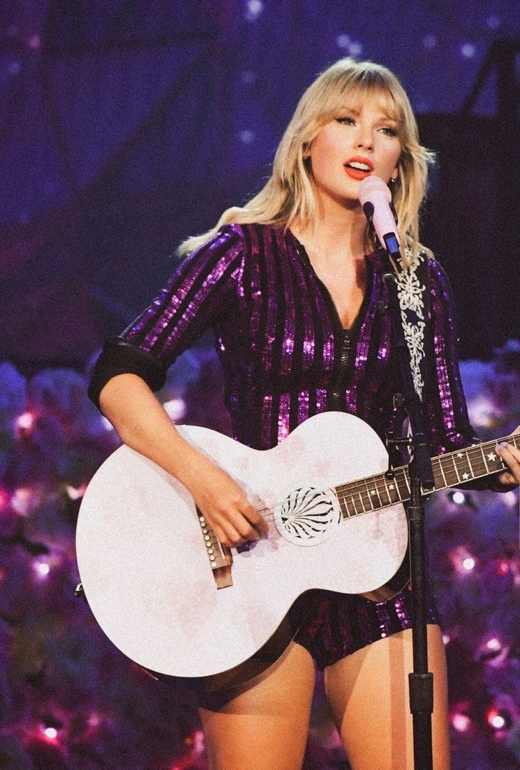 fashion, guitar, and Taylor Swift image