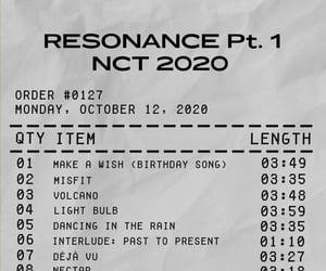 edit, receipt, and resonance image