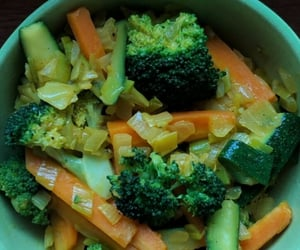 broccoli, delicious, and eat image