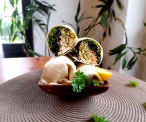 veggie and salmon wraps