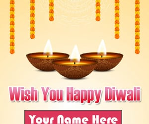 name wishes happy diwali and online free send special image