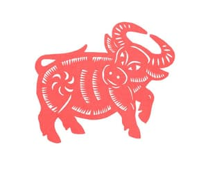 rubber stamp, stamps, and year of the ox image