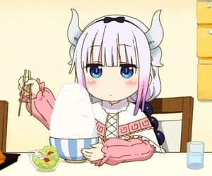 anime, gif, and anime cute image