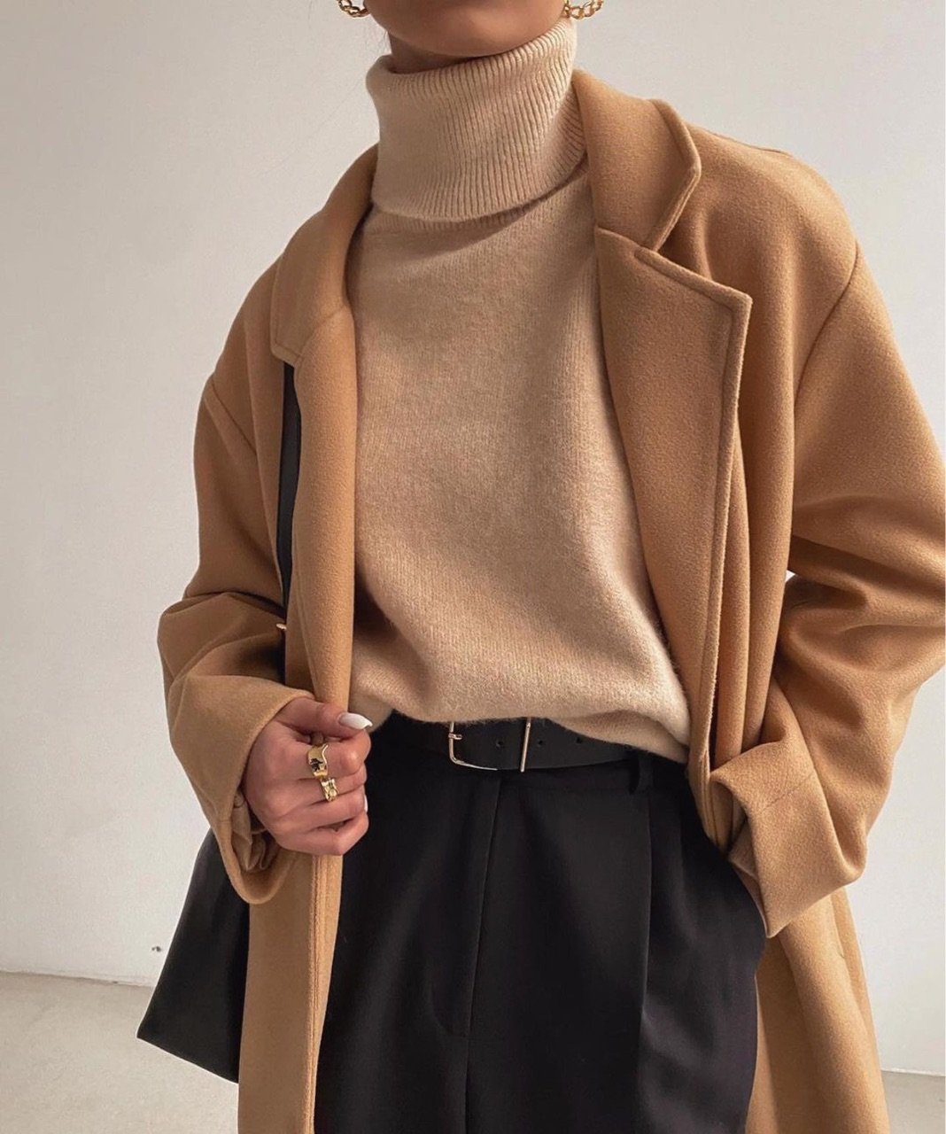 beige, camel, and coat image