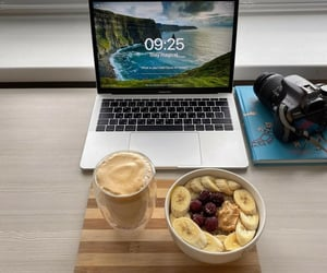 coffee, enjoy, and snack image