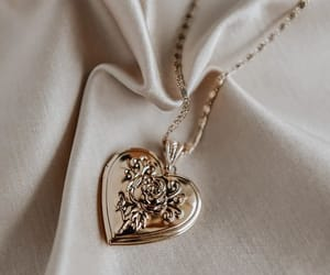 heart, necklace, and fashion image
