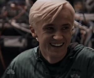draco malfoy, gryffindor, and slytherin image