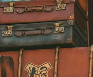 autumn, briefcase, and hp image