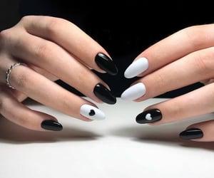 nails, nail polishes, and nail polish nails image