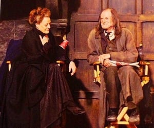 behind the scenes, harry potter, and minerva mcgonagall image