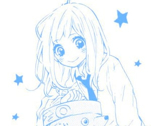 anime, kawaiicore, and blue image