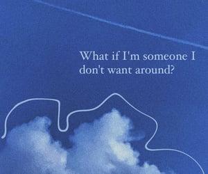 album, blue, and cloud image