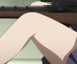 anime, thighs, and weeb image
