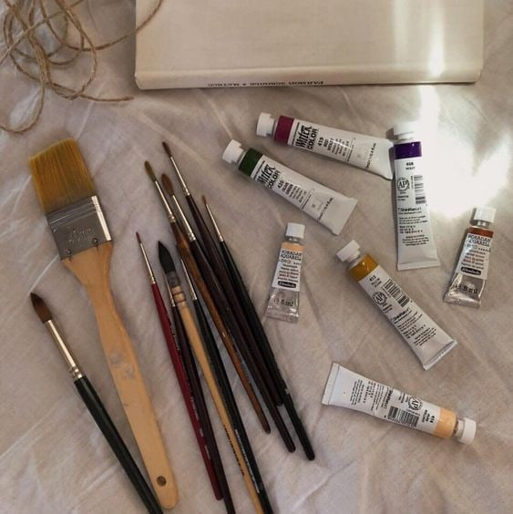aesthetic, art, and Brushes image