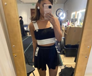 moonlight, outfit, and ariana grande image