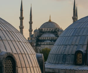 aesthetic, architecture, and mosque image