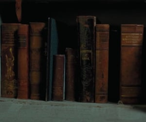 books, gryffindor, and slytherin image