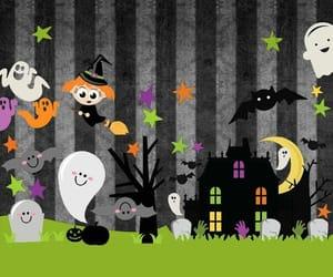 black, fantasma, and Halloween image