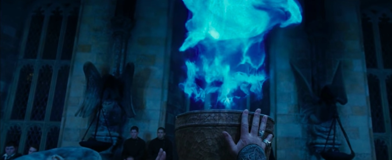 cup, triwizard, and dumbledore image
