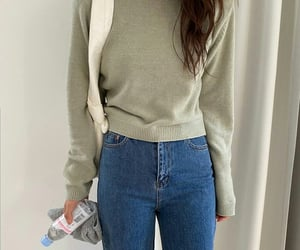 casual, outfits, and ulzzang girls image