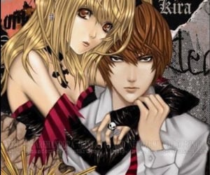 death note, light, and misa image
