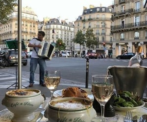 food, paris, and france image