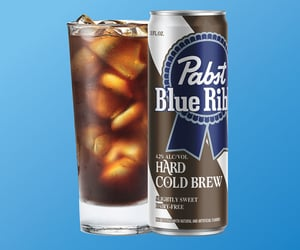PBR, Pabst Blue Ribbon, and cold brew coffee image