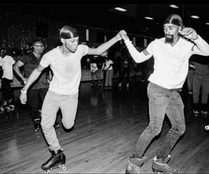 enjoyment, roller skating, and fun image