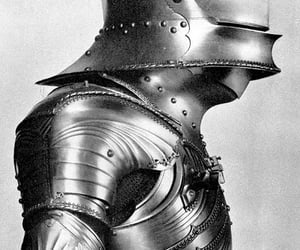 armor, medieval, and moyen age image