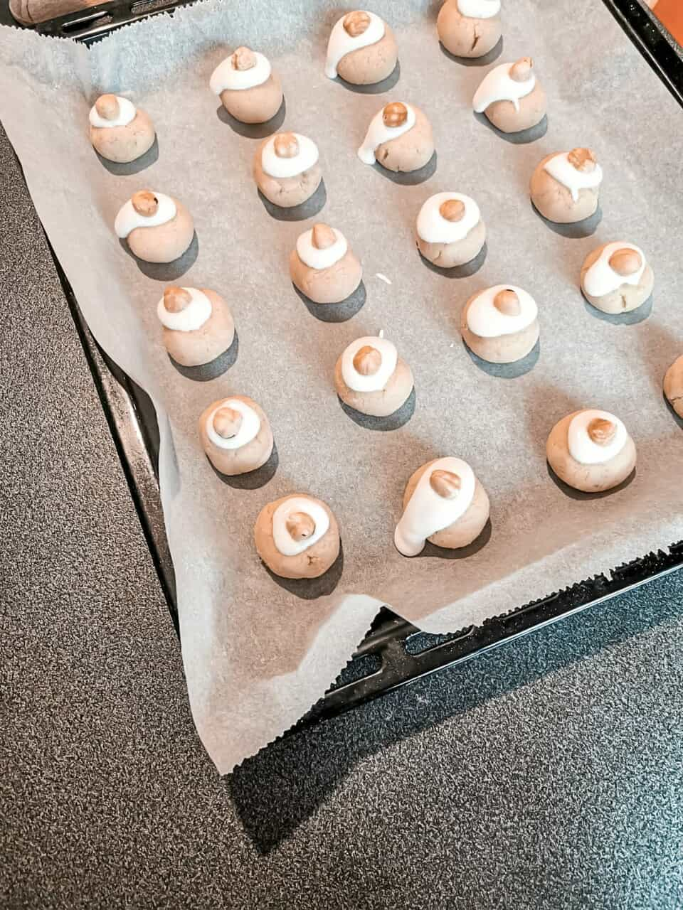 almond, bake, and food image