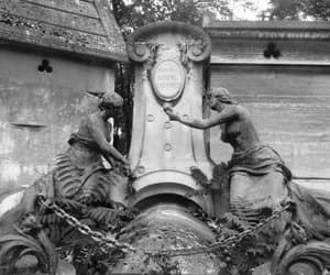 cemetery, paris, and gothic image