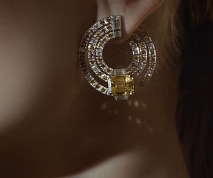 bijoux, lady, and moda image