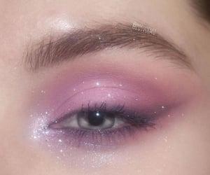 makeup, eye, and eyebrow image