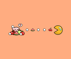 kirby and Pac Man image