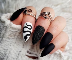 style, girl, and nails image