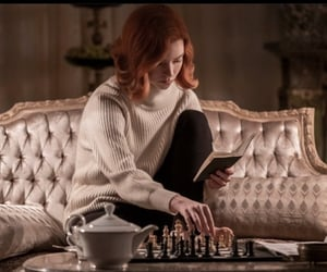 chess, beth, and netflix image