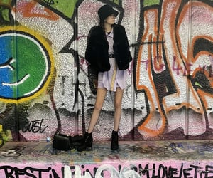 alt, fashion, and graffiti image