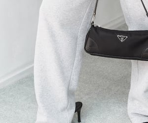 fashion, handbag, and Prada image
